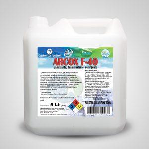 Detergente, sanitizante y desincrustante superficies Bidón 5 Litros
