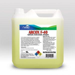 Detergente amonio cuaternarios y desincrustante superficies Bidón 5 Litros