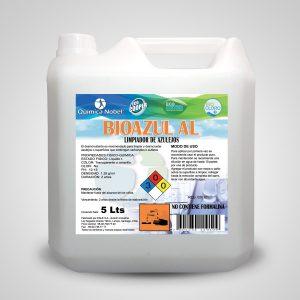 Limpiador de azulejos alcalino BIOAZUL-AL Bidón 5 Litros