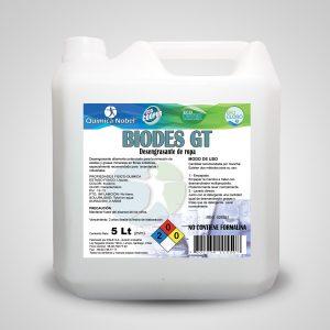 Desmanchador de grasa y aceite en telas 5 Litros