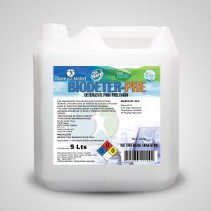 Detergente para prelavado de ropa BIODETER-PRE Bidón 5 Litros