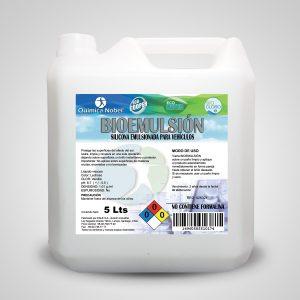 Silicona emulsionada para vehículos BIOEMULSION Bidón 5 Litros