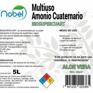 Multiuso amonio cuaternario 5 Litros