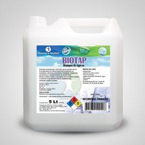 Shampoo de tapices concentrado BIOTAP Bidón 5 Litros
