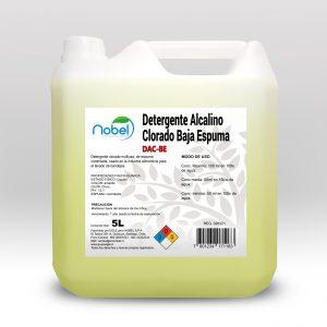 Detergente Alcalino Clorado Baja Espuma 5 Litros – DAC-BE