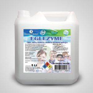 Detergente enzimático para material quirúrgico EGLEZYME Bidón 5 Litros
