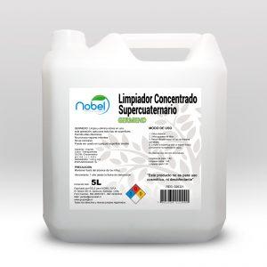 Higienizante de superficies con Amonios Cuaternarios concentrado, GERM-END Bidón 5 Litros
