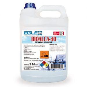 Tratamiento alcalino para calderas BIOALCA-40 Bidón 5 Litros