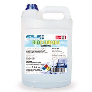 Espuma clorada desengrasante 5 Litros