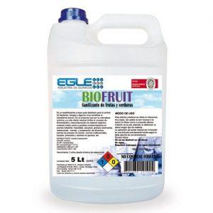 Sanitizante de frutas y verduras BIOFRUIT Bidón 5 Litros
