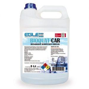 Desengrasante sanitizante de vehículos BIOQUAT-CAR Bidón 5 Litros