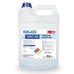 Detergente alcalino clorado alta espuma 5 Litros