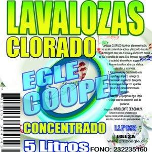 Lavalozas Clorado ECOCOOPER 5 Litros