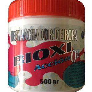 Desmanchador en polvo para telas color ,BioxiO2 500 g