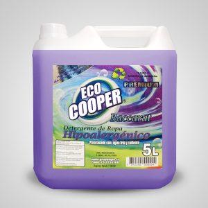 Detergente líquido concentrado Baccarat 5 litros