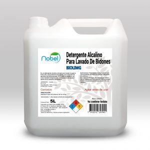 Detergente para lavado de Garrafones BIOLIM-G 5 litros