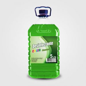 Desinfectante Manzana GemColor 5 Litros 2