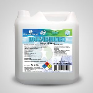 Shampoo para hidrolavadora BIOCAR-HIDRO Bidón 5 Litros