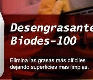 Desengrasante industrial concentrado BIODES-100 Bidón 1 Litro