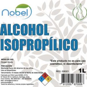 Alcohol Isopropílico 1 litro