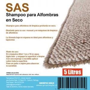 Shampoo en Seco tapices 5 litros