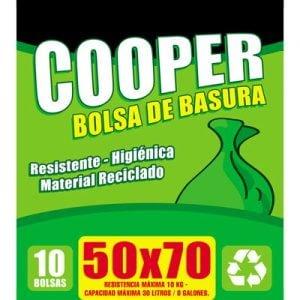 BOLSAS PARA BASURA 50×70