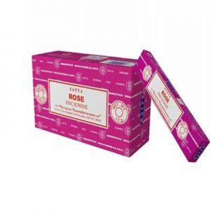 INCIENSO SATYA ROSA (caja x 10)