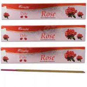 INCIENSO VEDIC ROSE (caja x 10)