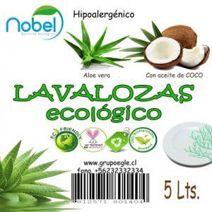 Lavalozas Ecológico 5 Litros con coco
