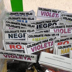 COLORANTE SOLIDO PARA VELAS DE NOBEL