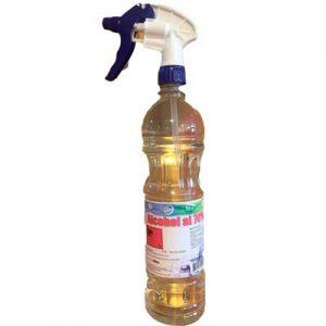 Alcohol etílico 70° 900 cc con atomizador